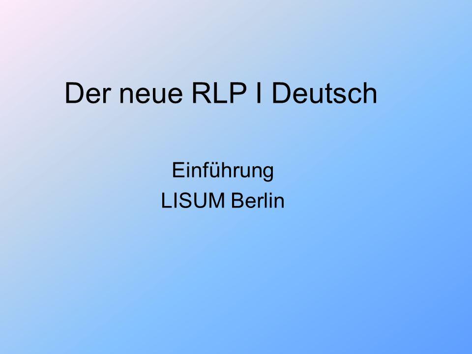 Einführung LISUM Berlin