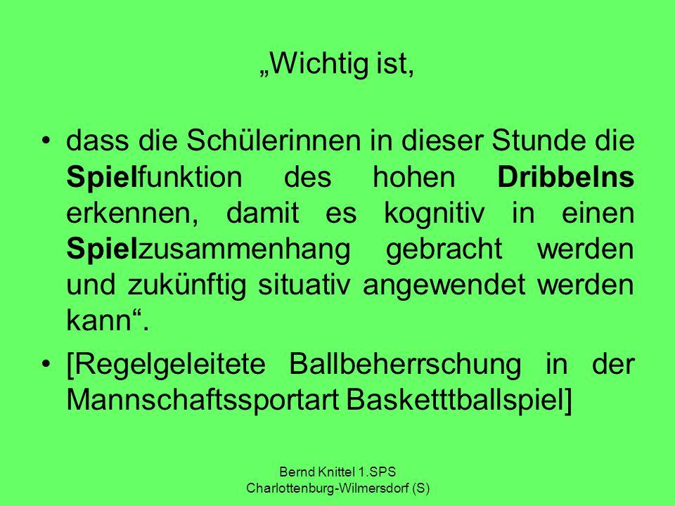 Bernd Knittel 1.SPS Charlottenburg-Wilmersdorf (S)