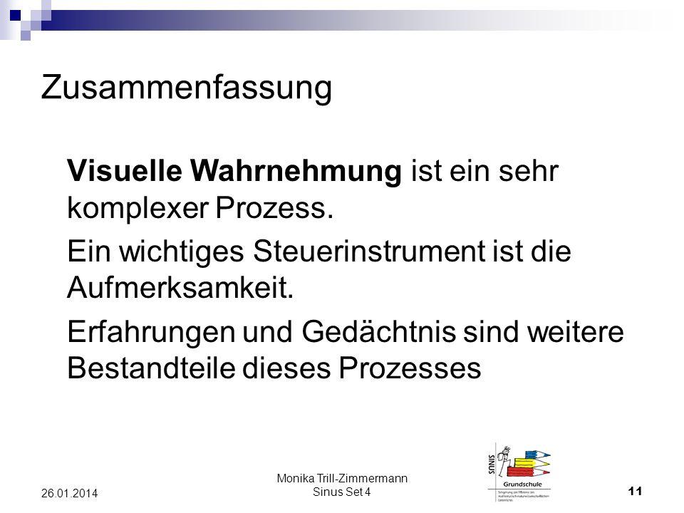 Monika Trill-Zimmermann Sinus Set 4
