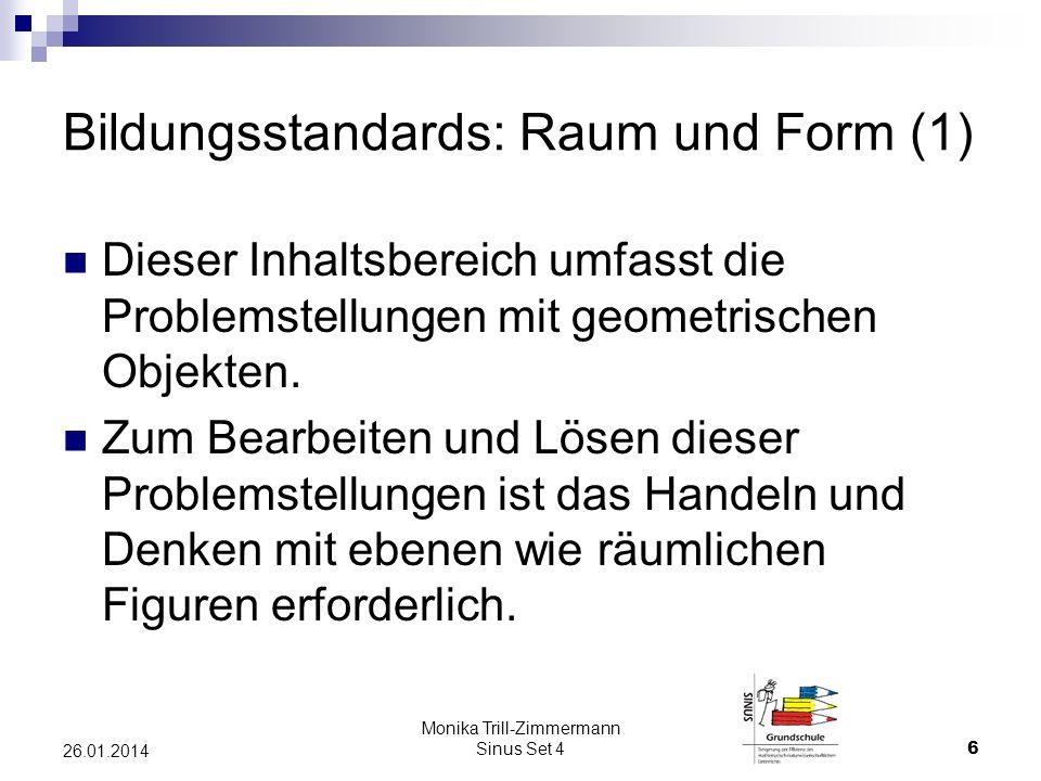 Bildungsstandards: Raum und Form (1)