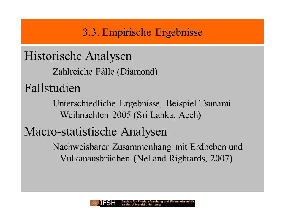 3.3. Empirische Ergebnisse