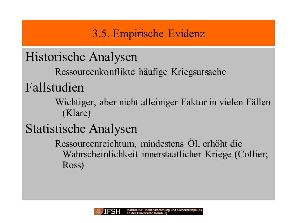 Statistische Analysen