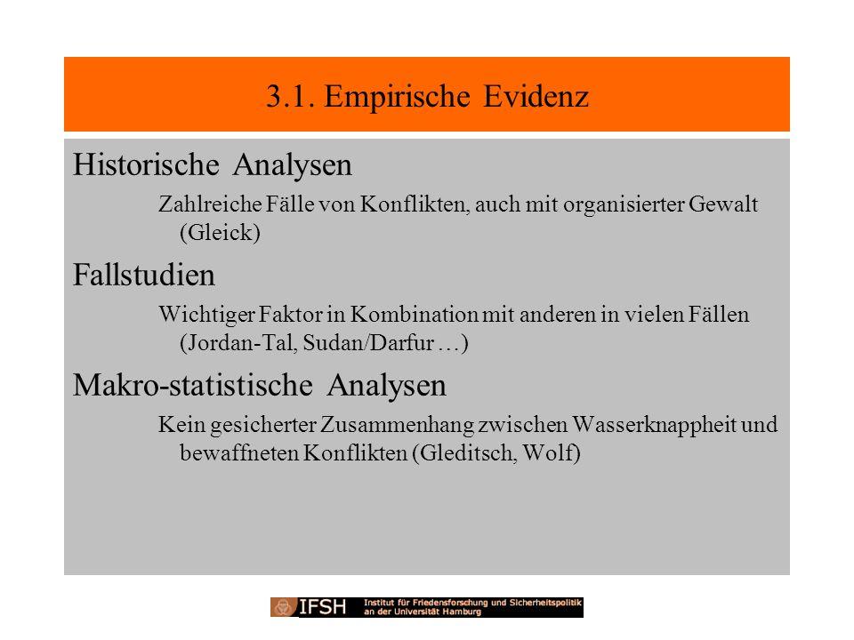 Makro-statistische Analysen