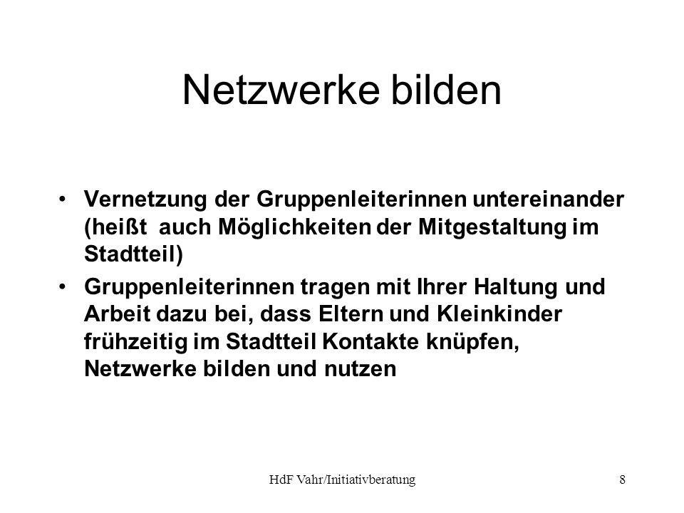 HdF Vahr/Initiativberatung