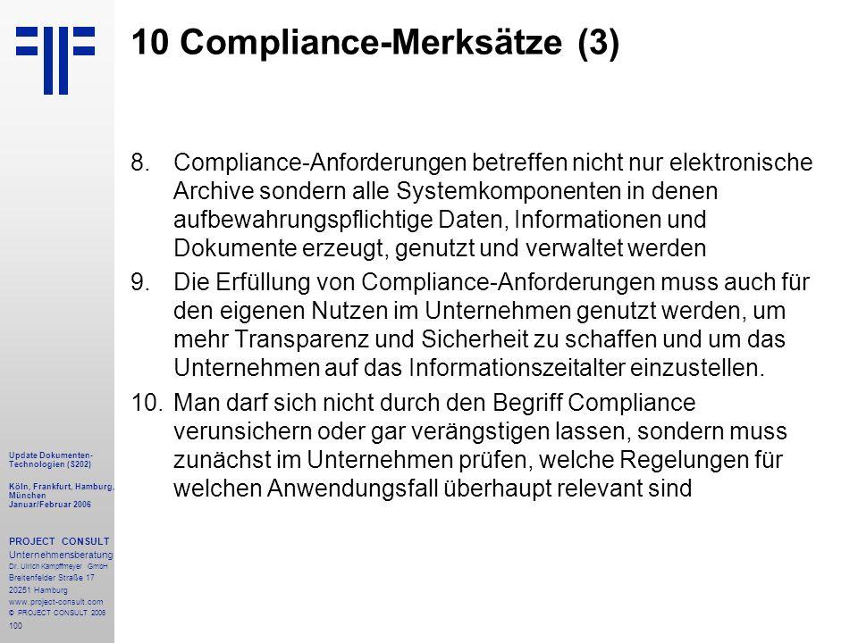 10 Compliance-Merksätze (3)