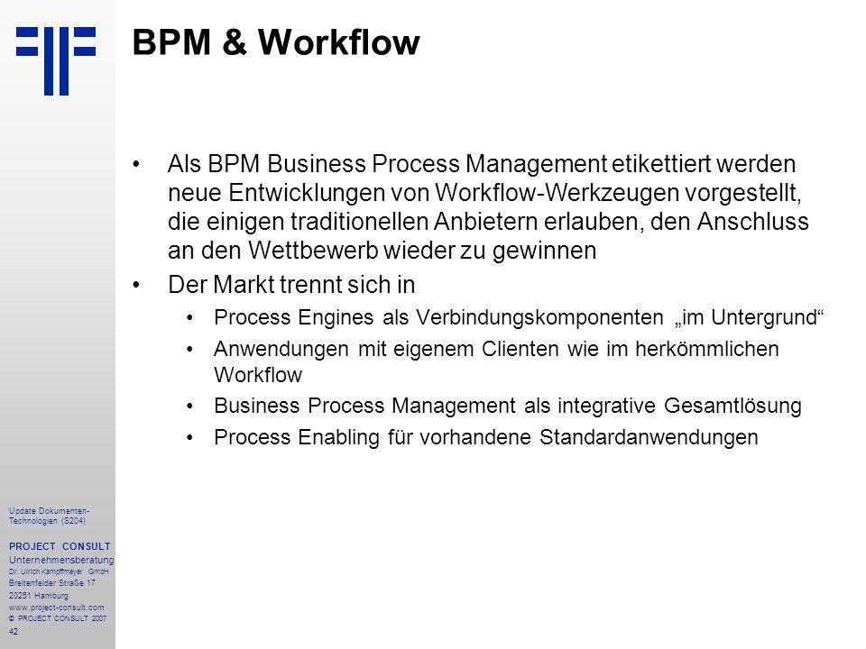 BPM & Workflow