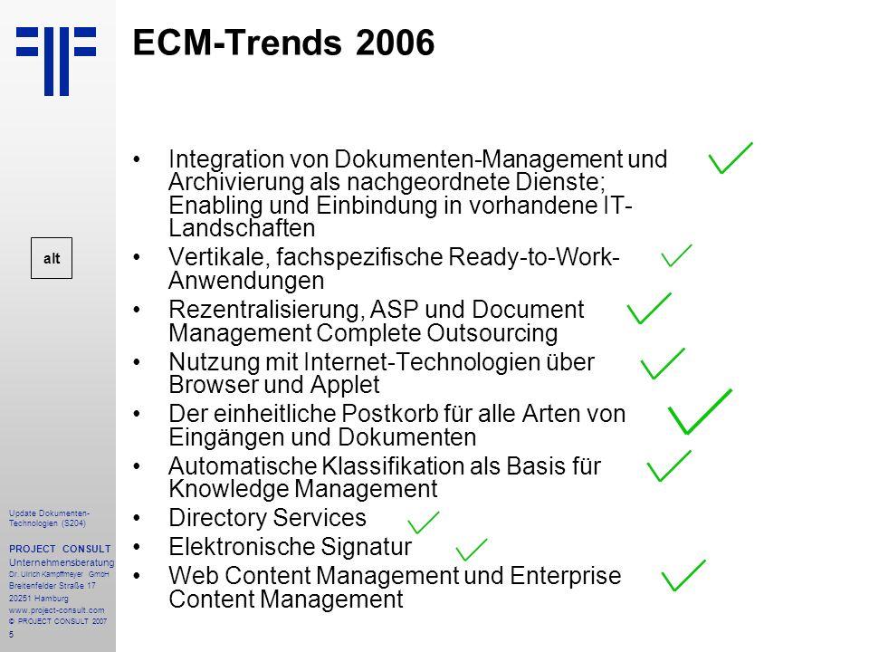 ECM-Trends 2006