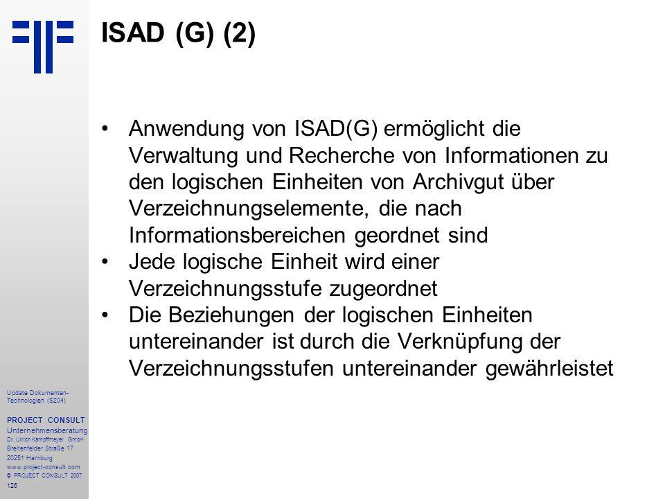 ISAD (G) (2)