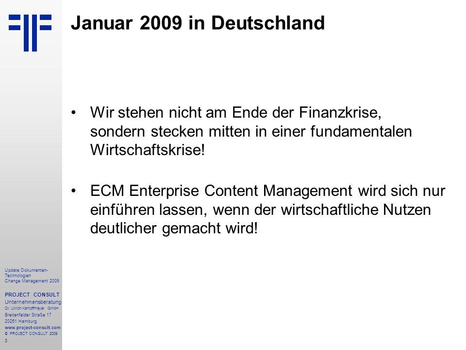 Januar 2009 in Deutschland Wir stehen nicht am Ende der Finanzkrise, sondern stecken mitten in einer fundamentalen Wirtschaftskrise!