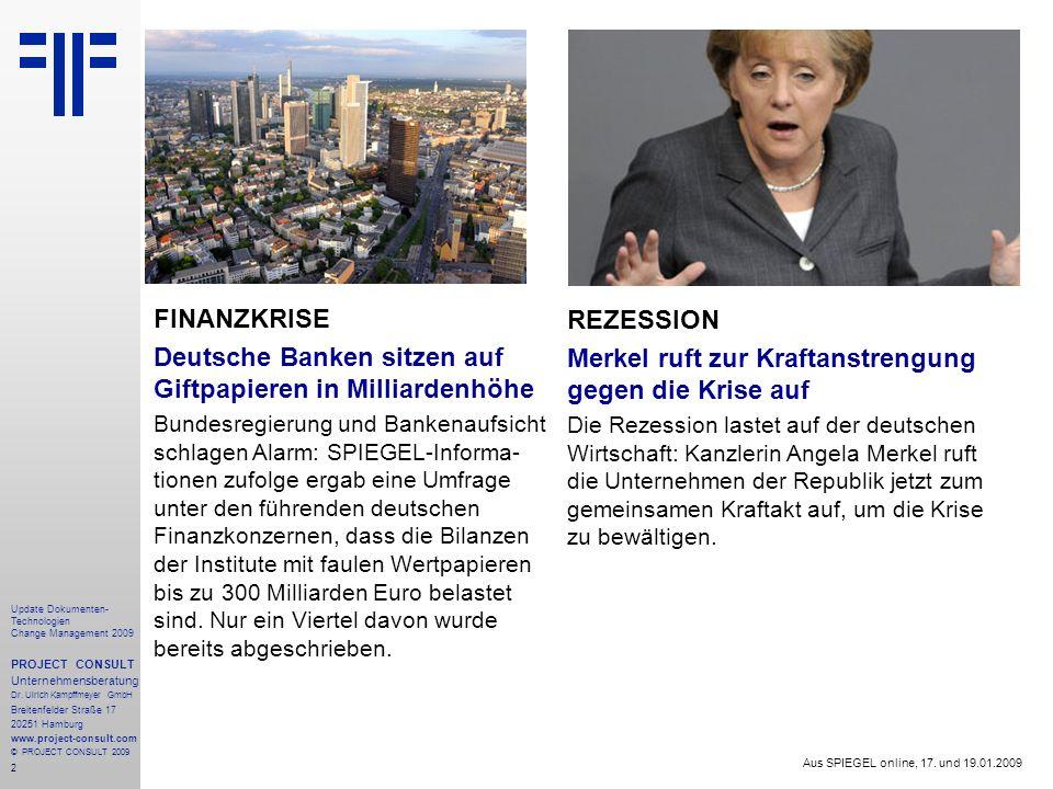 Deutsche Banken sitzen auf Giftpapieren in Milliardenhöhe REZESSION
