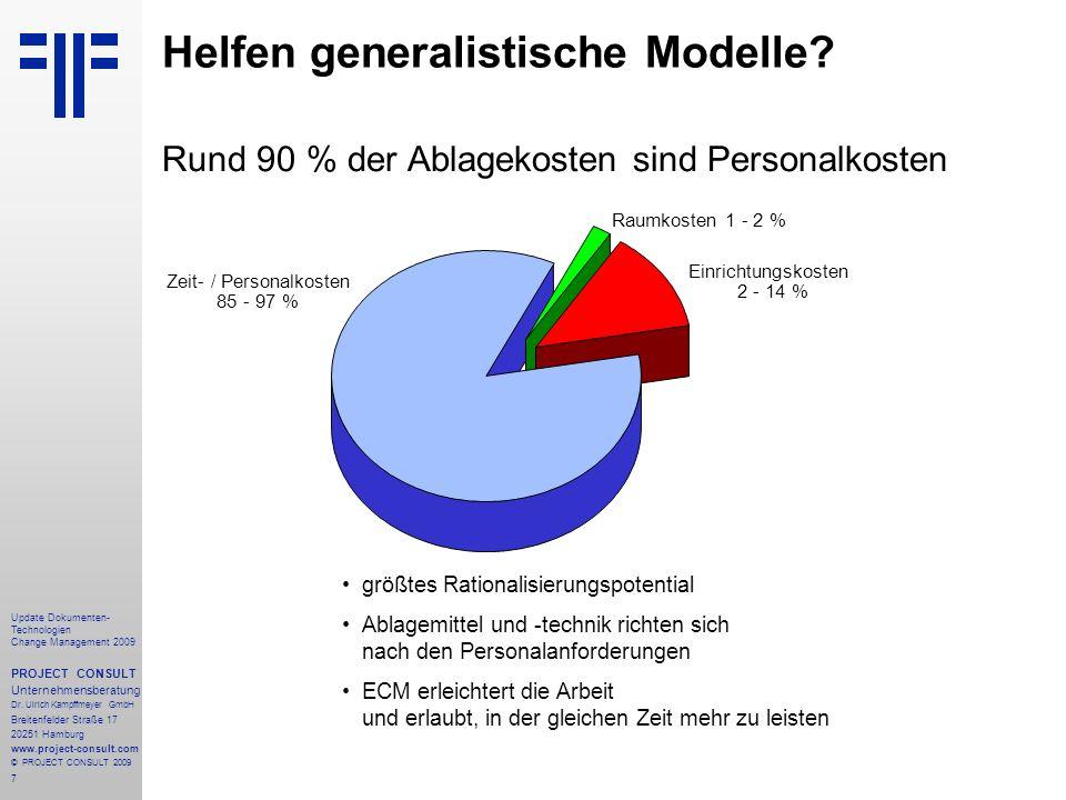 Helfen generalistische Modelle