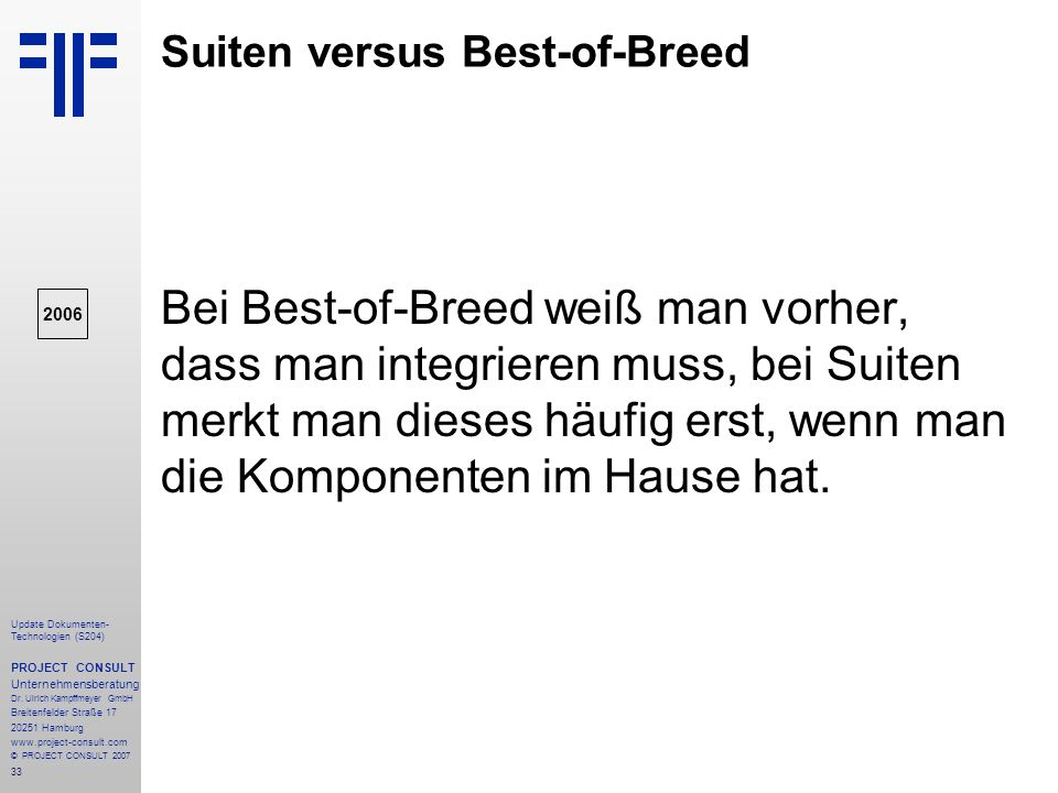 Suiten versus Best-of-Breed