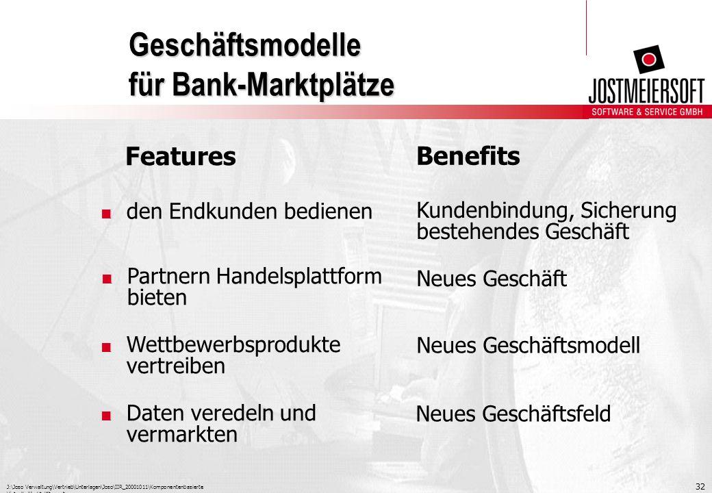 Geschäftsmodelle für Bank-Marktplätze