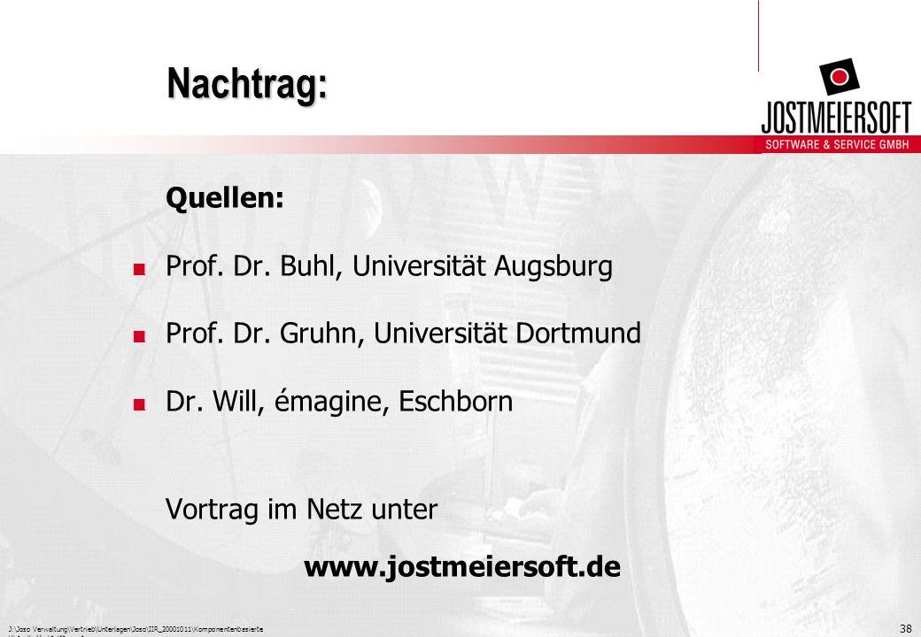 Nachtrag: Quellen: Prof. Dr. Buhl, Universität Augsburg