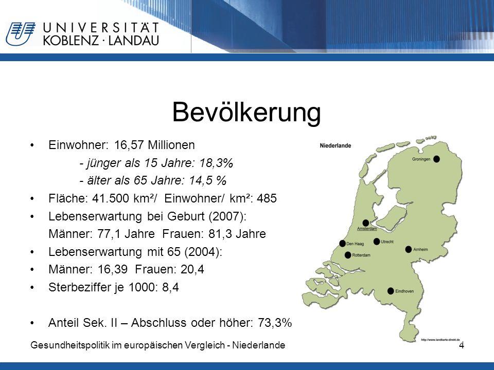 Bevölkerung Einwohner: 16,57 Millionen - jünger als 15 Jahre: 18,3%
