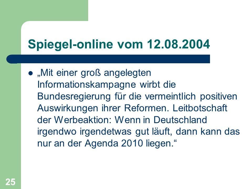 Spiegel-online vom 12.08.2004