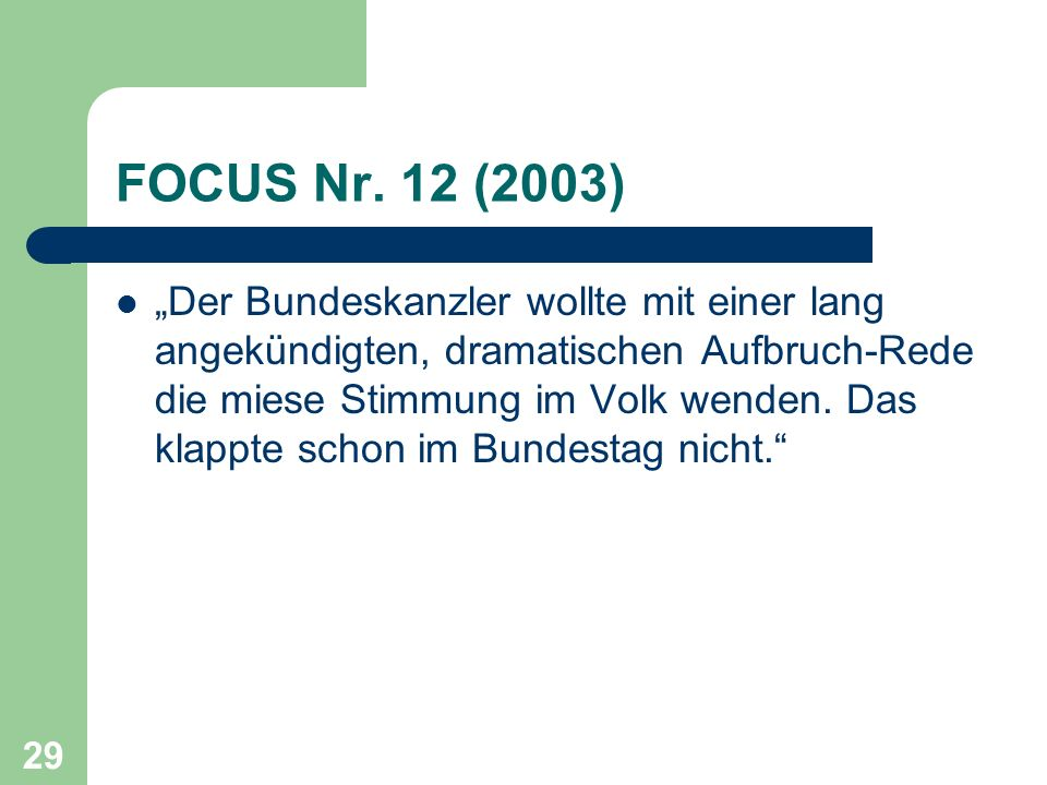 FOCUS Nr. 12 (2003)