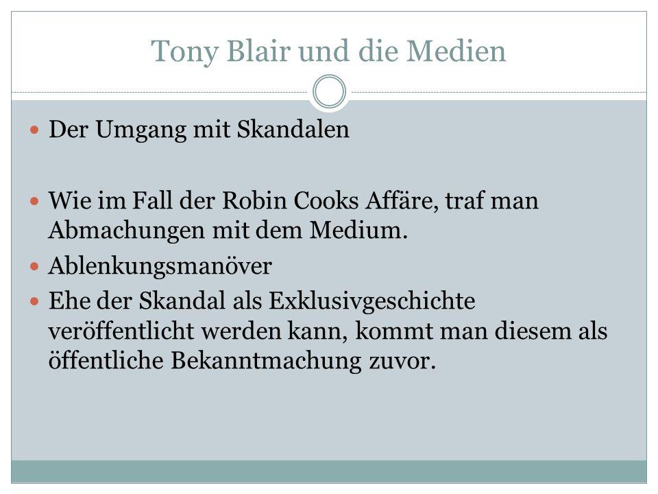 Tony Blair und die Medien