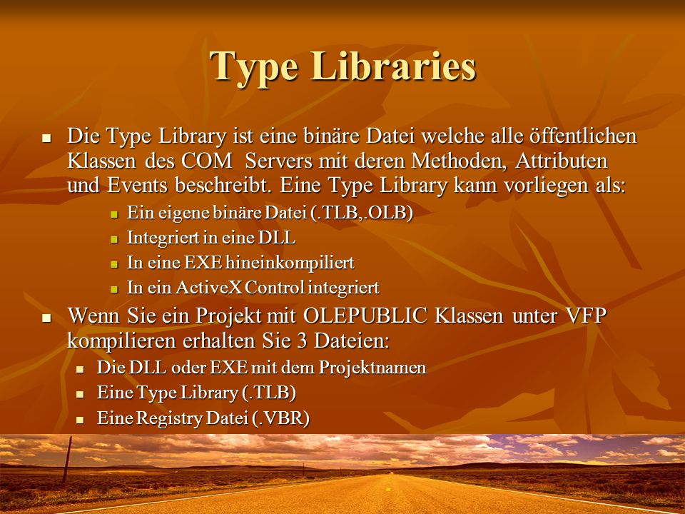 Type Libraries