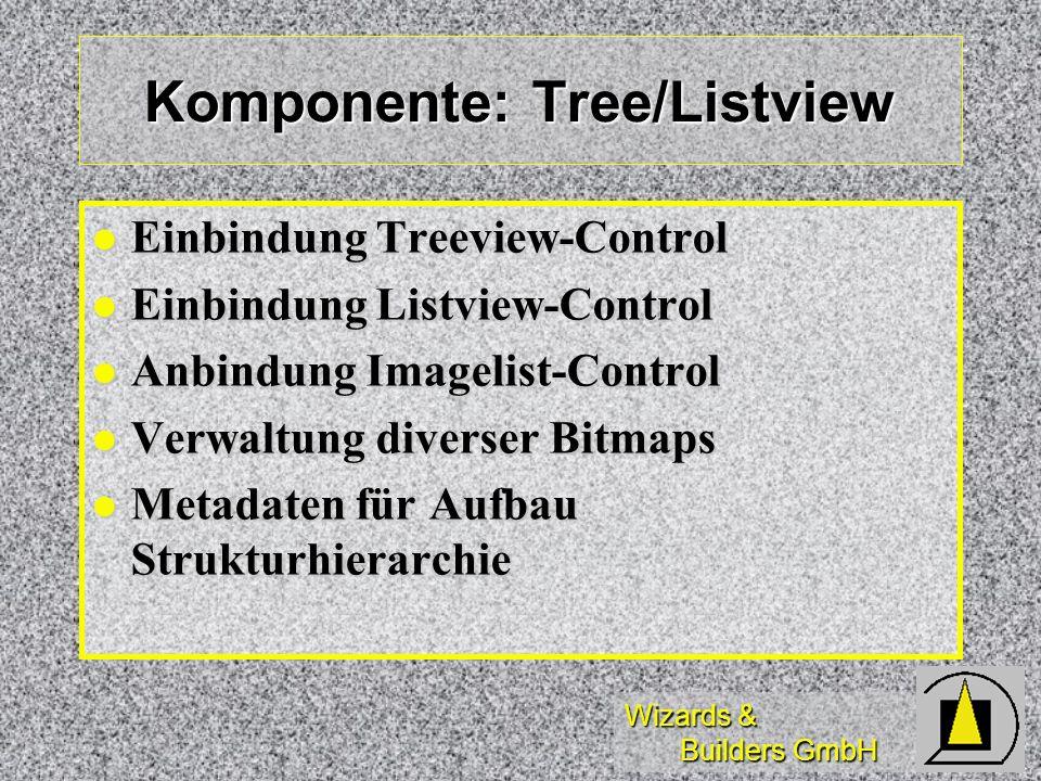 Komponente: Tree/Listview