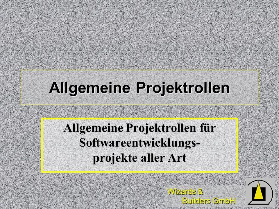 Allgemeine Projektrollen