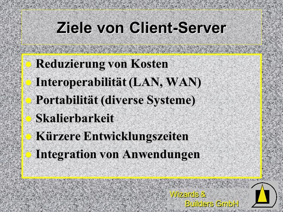 Ziele von Client-Server