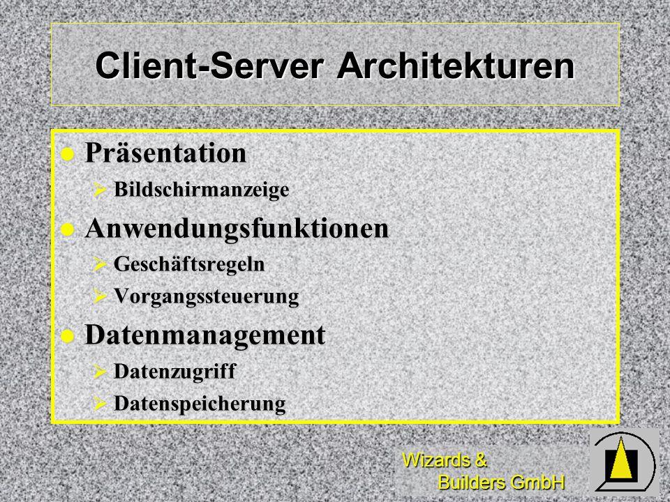 Client-Server Architekturen