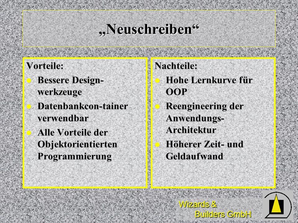 """""""Neuschreiben Vorteile: Bessere Design-werkzeuge"""