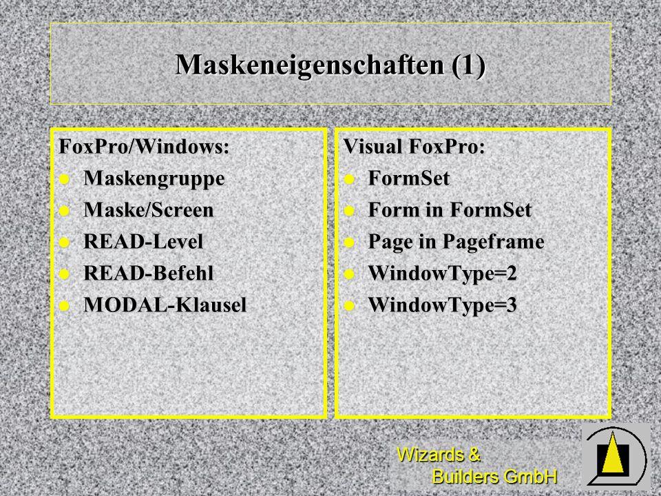 Maskeneigenschaften (1)