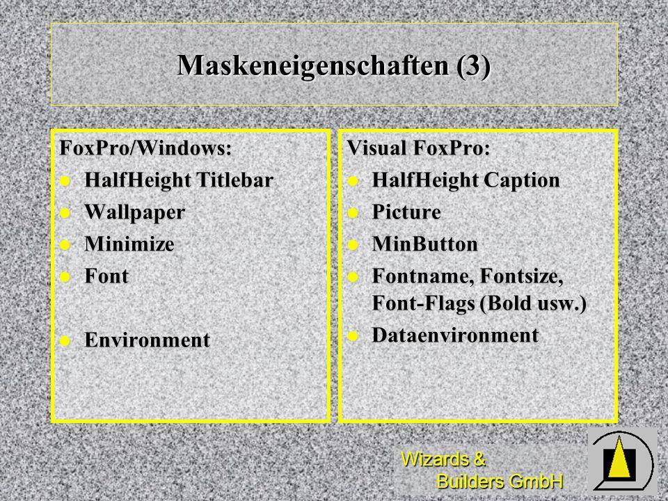 Maskeneigenschaften (3)