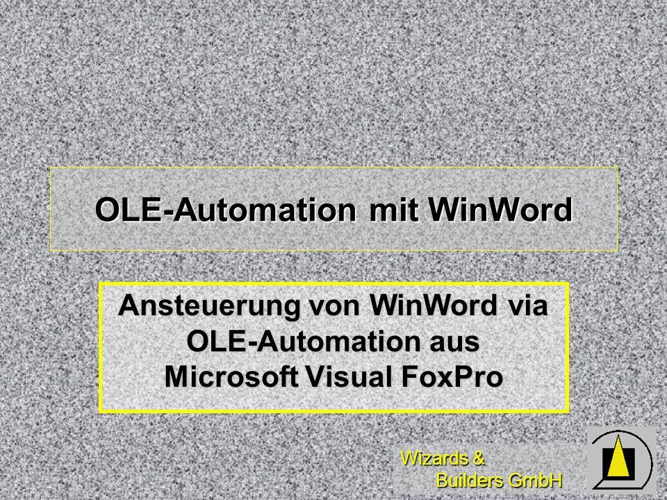 OLE-Automation mit WinWord