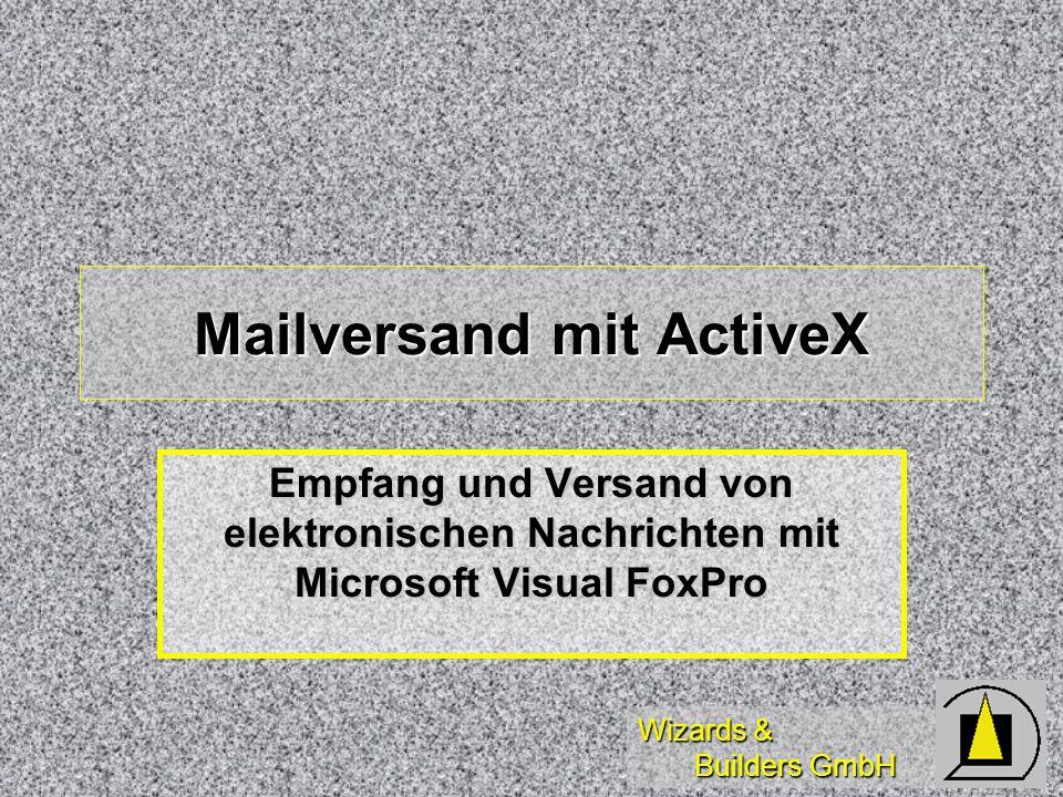 Mailversand mit ActiveX