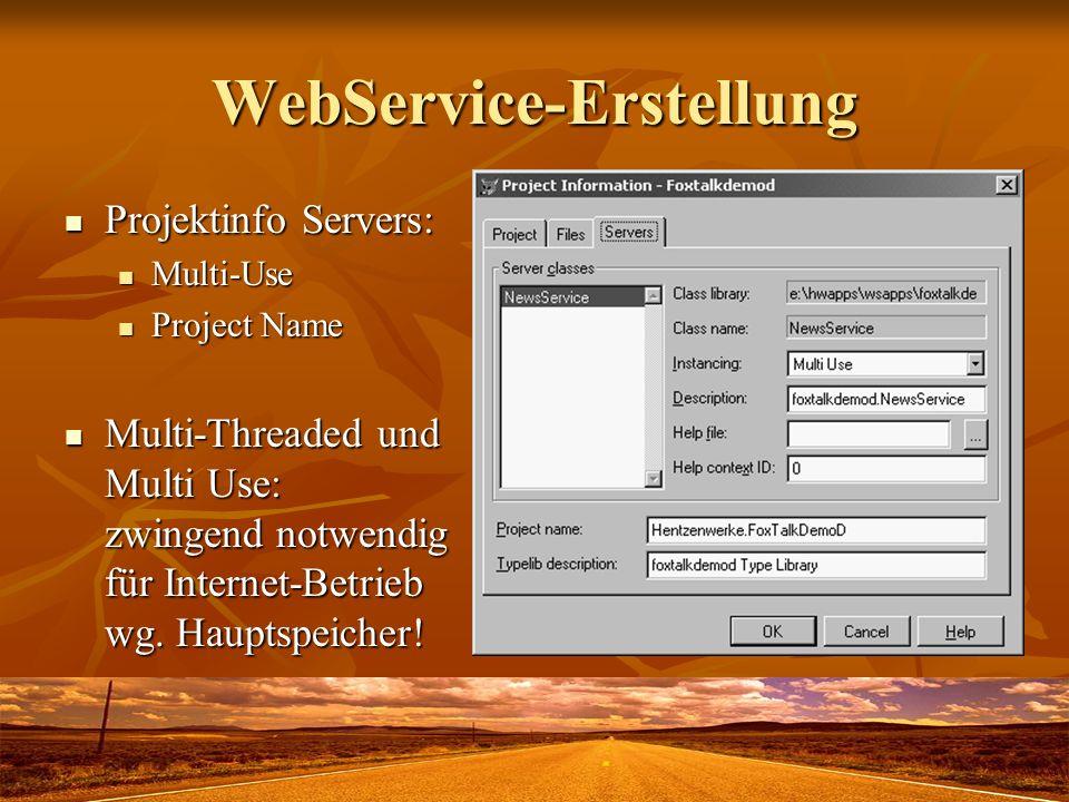 WebService-Erstellung