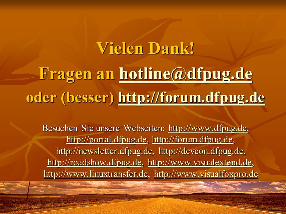 Fragen an hotline@dfpug.de oder (besser) http://forum.dfpug.de