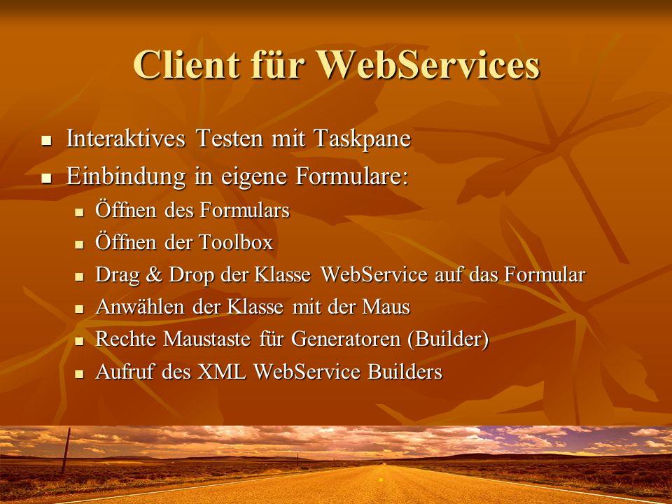 Client für WebServices