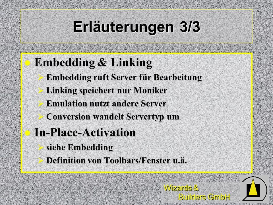 Erläuterungen 3/3 Embedding & Linking In-Place-Activation