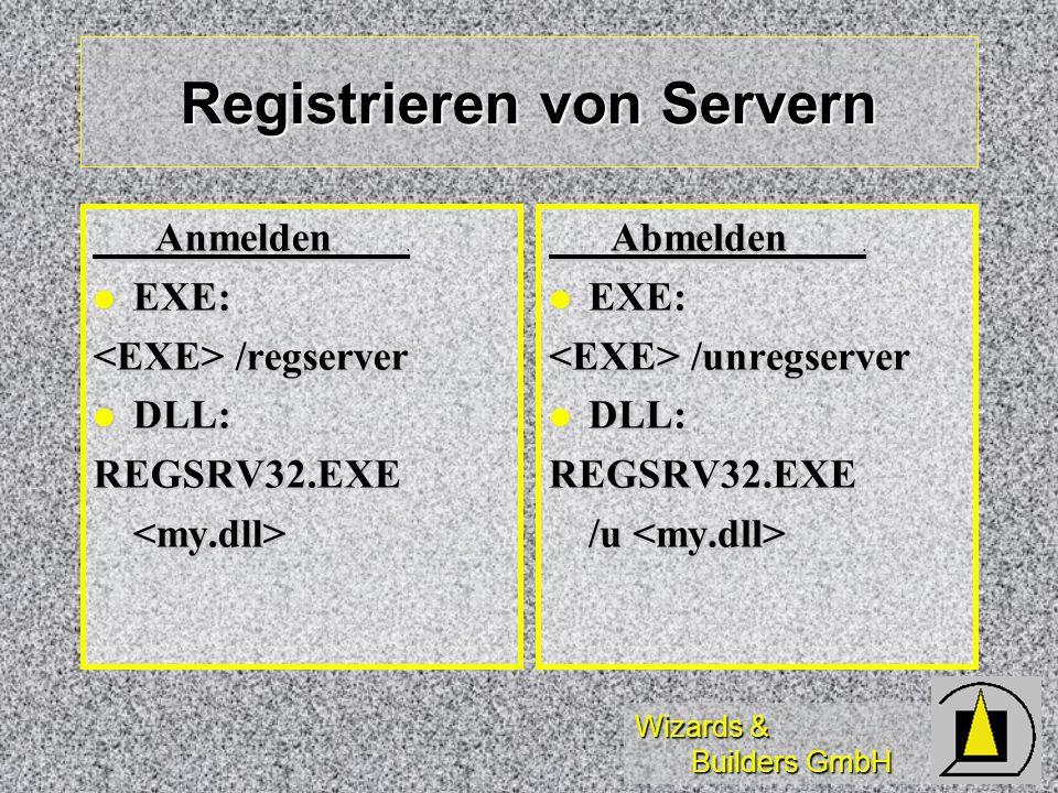 Registrieren von Servern