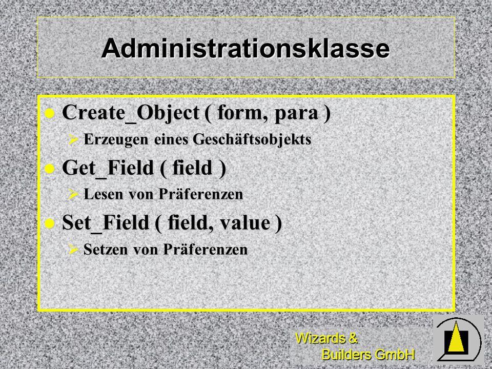 Administrationsklasse