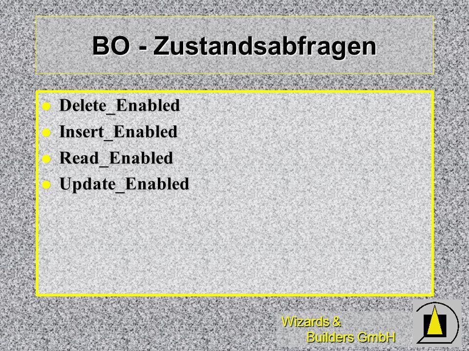 BO - Zustandsabfragen Delete_Enabled Insert_Enabled Read_Enabled