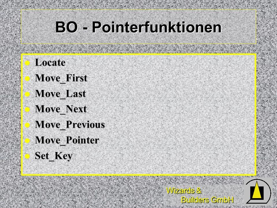 BO - Pointerfunktionen