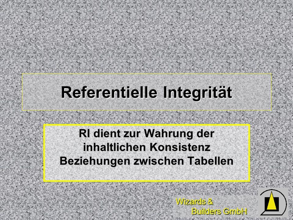 Referentielle Integrität