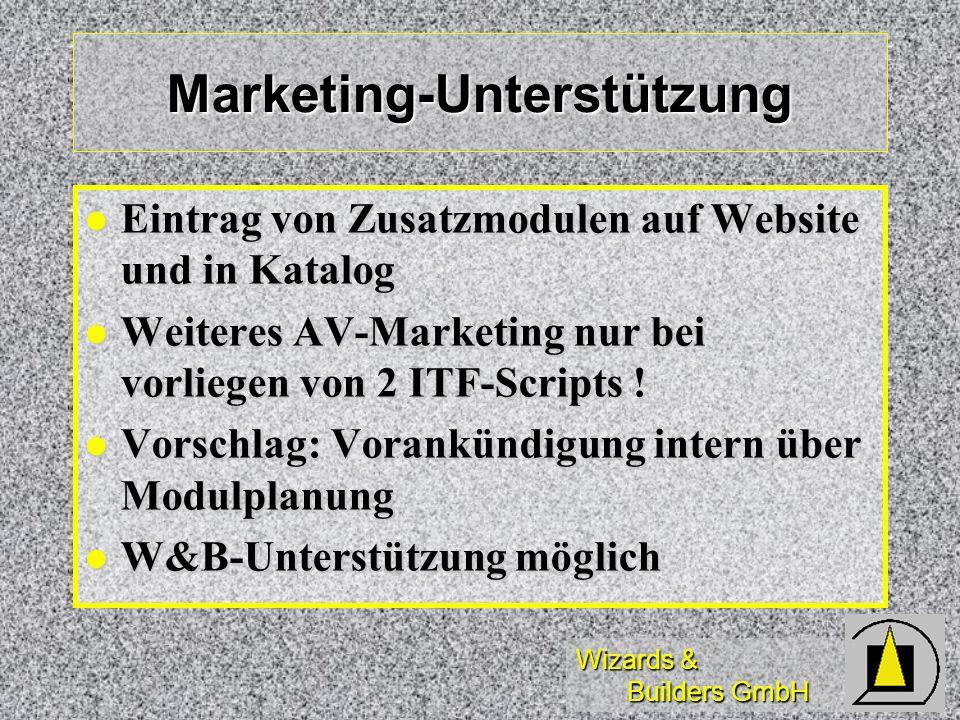Marketing-Unterstützung
