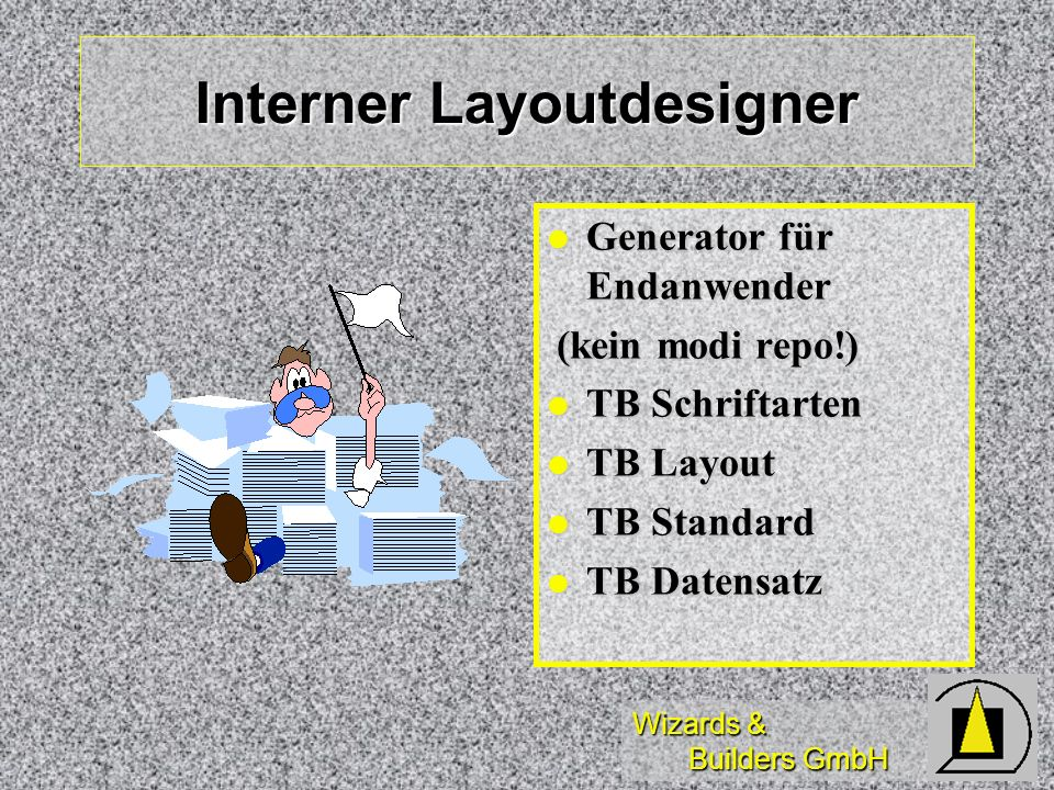 Interner Layoutdesigner