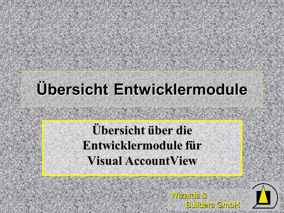 Übersicht Entwicklermodule
