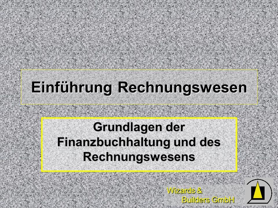 Einführung Rechnungswesen