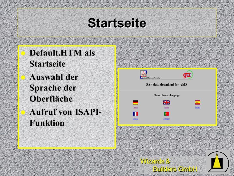 Startseite Default.HTM als Startseite