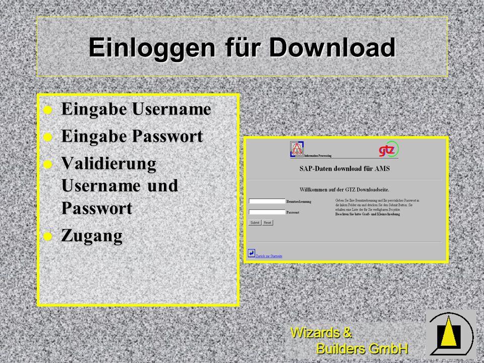 Einloggen für Download