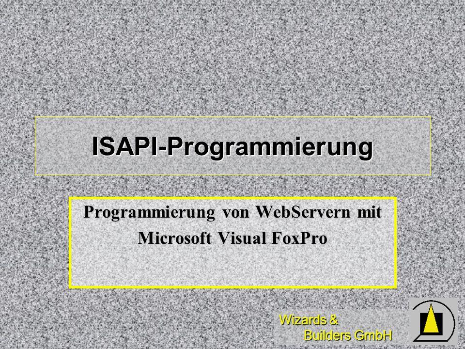 ISAPI-Programmierung