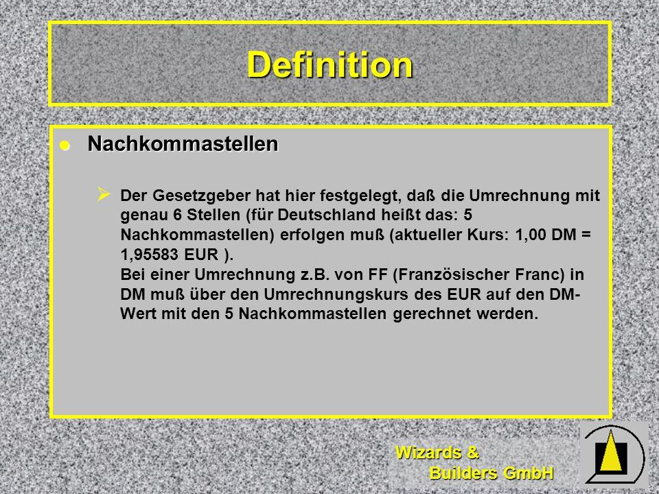Definition Nachkommastellen