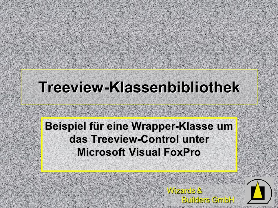 Treeview-Klassenbibliothek